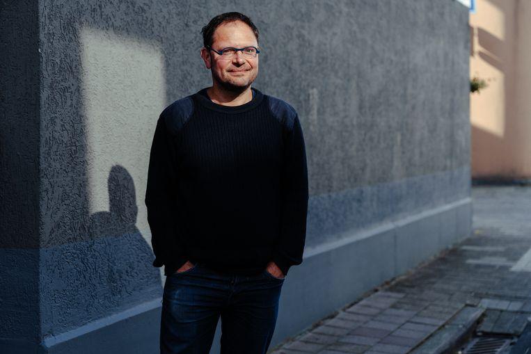 Schrijver Tom Naegels: het verhaal van de gastarbeid. Beeld Damon De Backer