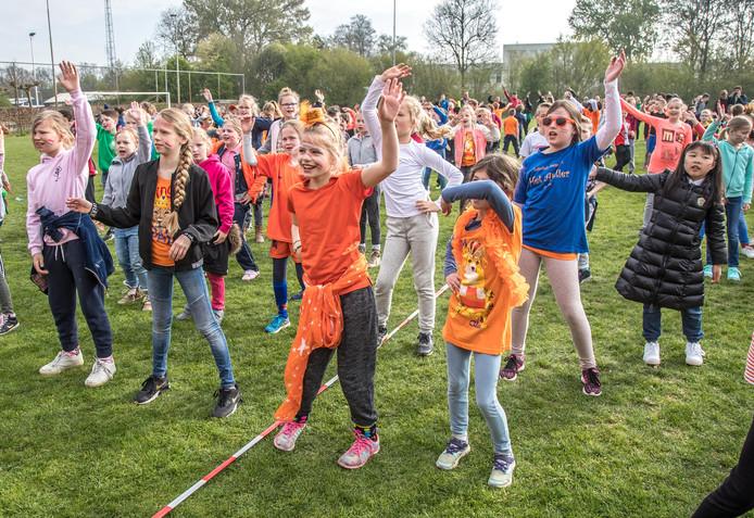 Koningsspelen editie 2017 op sportpark Marslanden in Zwolle.