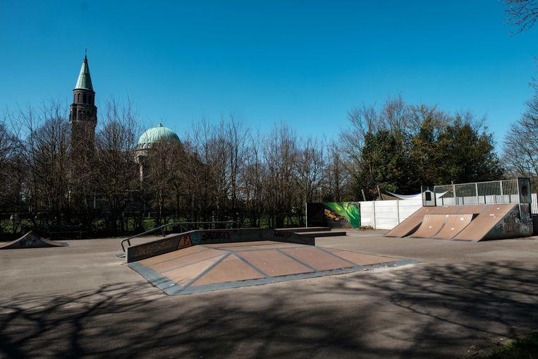 Skatepark in de Hovestraat.