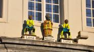 Gents Manneke Pis krijgt brandweeruniform voor Sint-Barbara