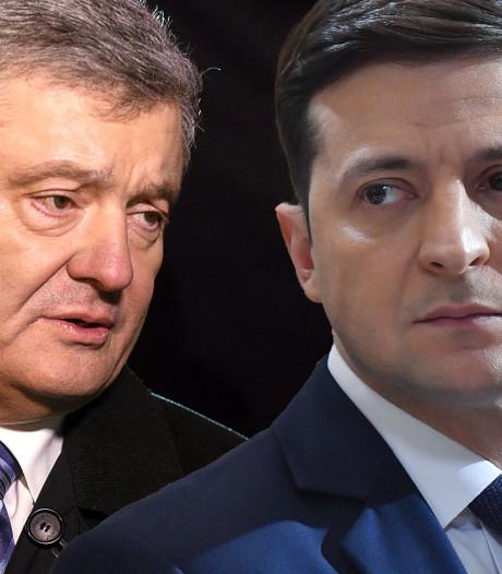 Komiek Zelenski nieuwe president Oekraïne: 'Hou ons in de gaten, alles is mogelijk'
