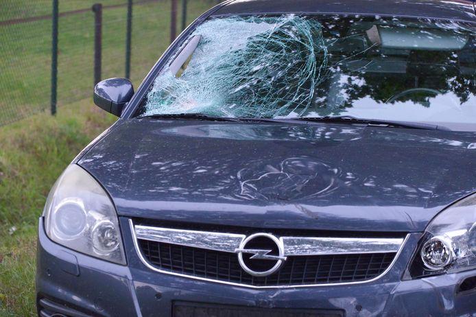 Schade aan voertuig.