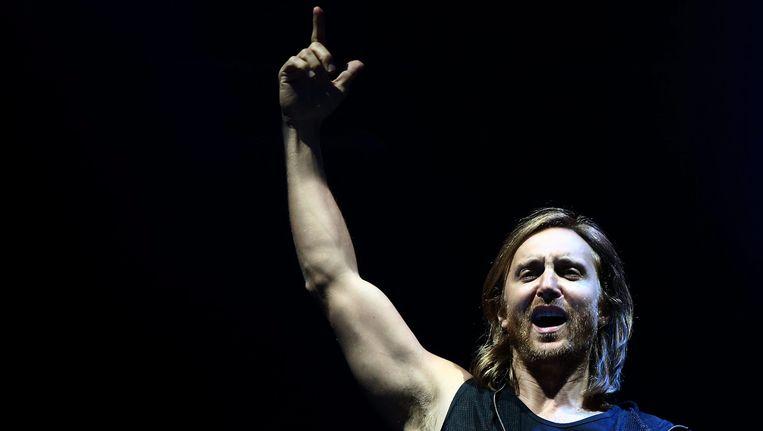 David Guetta heeft er al zin in. Beeld ANP