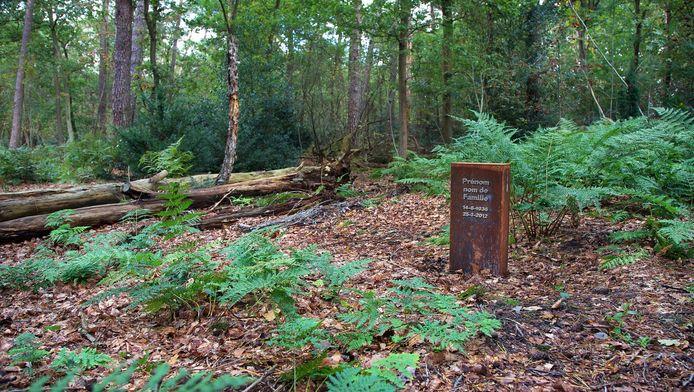 Een voorbeeld van een natuurbegraafplaats. Deze heet 'Den en Rust' en ligt in Bilthoven.