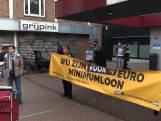 Actievoerders weggestuurd bij Nijmeegs stadhuis na korte bezetting
