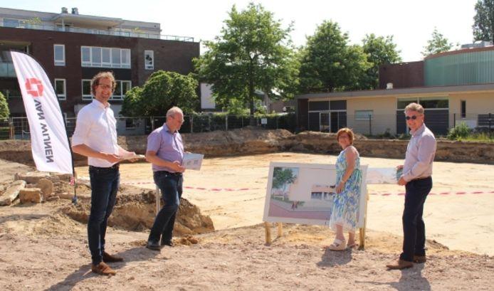 Startsein voor nieuw te bouwen appartementen in Hoogland.