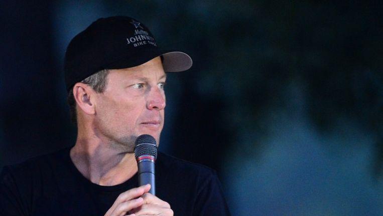 Lance Armstrong Beeld afp