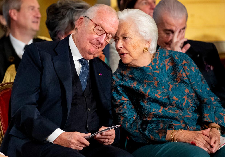 Koning Albert en koningin Paola Beeld Getty Images