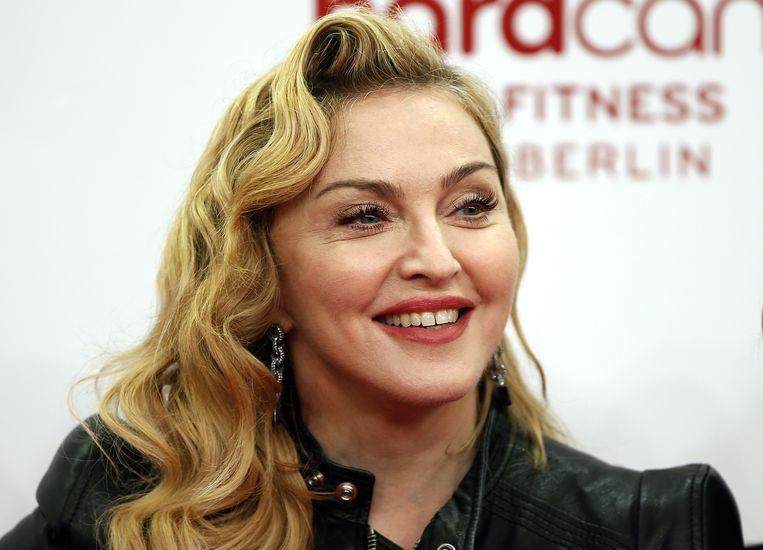 Zangeres Madonna. Beeld ap
