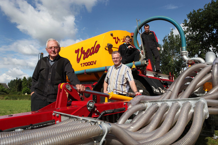 Vredo produceert vanuit het buurtschap Wely, tussen Dodewaard en Andelst, enorme landbouwmachines