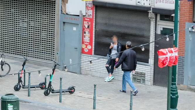"""Drugsoverlast en straatprostitutie teisteren Brusselse centrumwijken: """"Ik hang constant aan de lijn met de politie"""""""