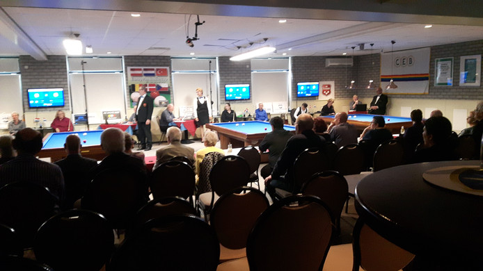 Het toernooi om de European Ladies Cup wordt drie keer in Rosmalen gehouden