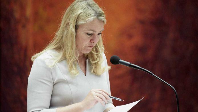 Melanie Schultz in de Tweede Kamer
