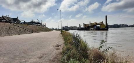 Opluchting in Tolkamer: Rijn stijgt tot 'winterhoogte'