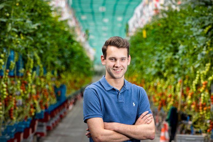 Teun Vereijken (21) uit Beek en Donk is nieuwe bestuurder bij Brabant Agrarisch Jongeren Kontakt. Hij groeide op in de glastuinbouw en wil andere jongeren daar enthousiast voor maken.