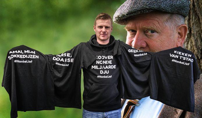 Matthias Demeyere eert Nonkel Jef met een eigen kledinglijn