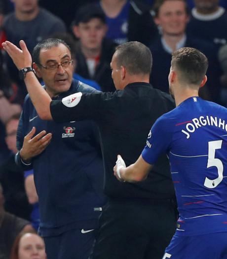 Chelsea-coach Sarri krijgt boete van 9000 euro