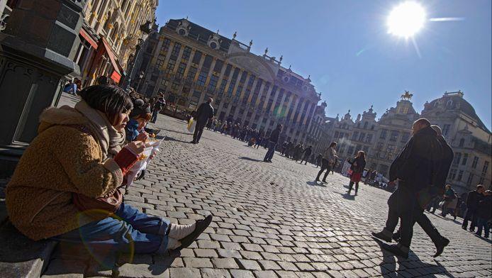 De Brusselse Grote Markt.