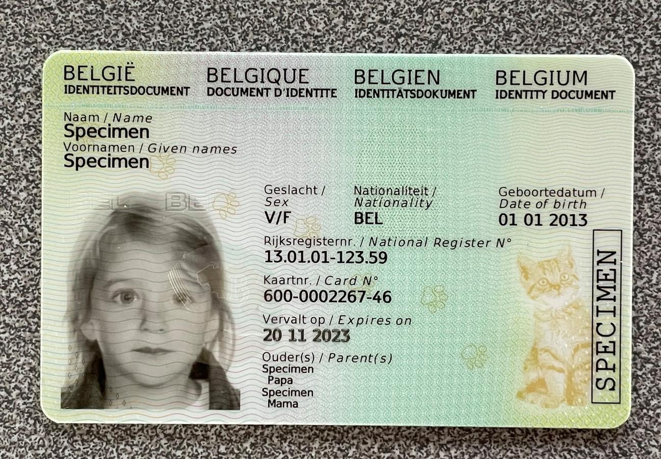De vernieuwde Kids-ID