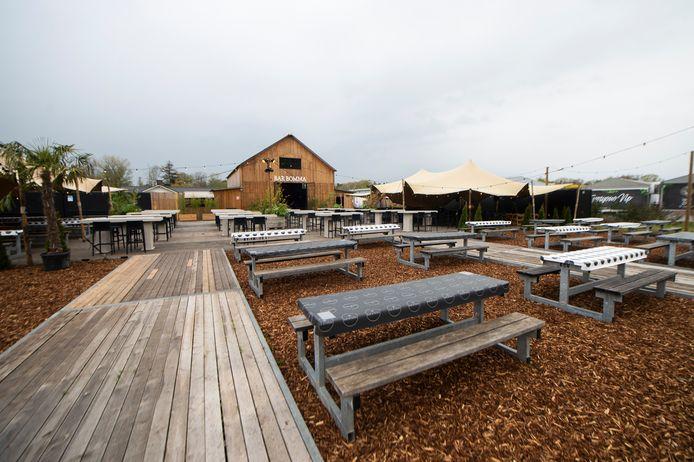 Bar Bomma biedt vierhonderd buitenplekken