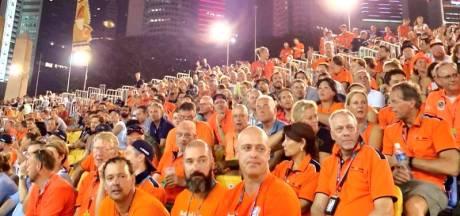 Zelfs in Singapore stond een oranje Max-tribune