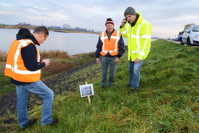 Dijk inspectie in Rivierenland in 2018. Foto ter illustratie.