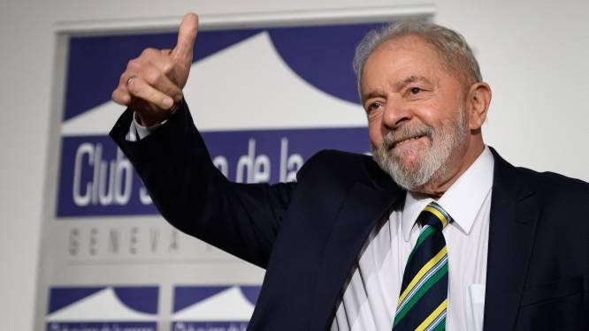 Hooggerechtshof in Brazilië heft veroordeling van voormalig president Lula op