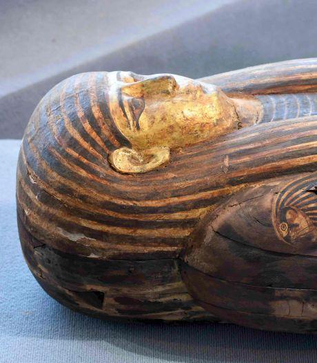 Archeologen doen grote vondst in Egypte: ruim 100 sarcofagen van 2500 jaar oud
