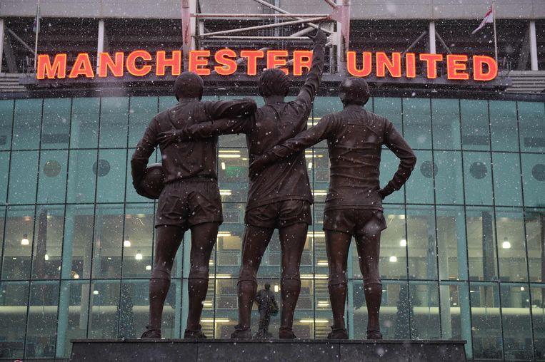 Manchester United blijft de rijkste club ter wereld. Beeld AFP