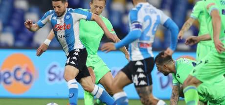 Napoli maakt Italiaanse CL-strijd nóg spannender dankzij prachtgoals
