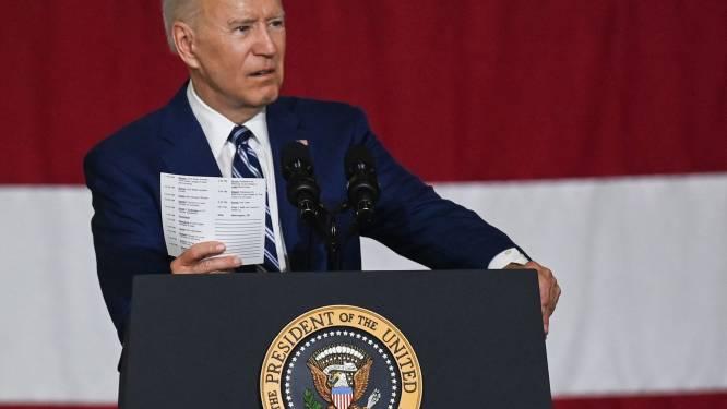 """Biden wil Amerikaanse economie """"heruitvinden"""" met ambitieuze begroting van 6 biljoen"""
