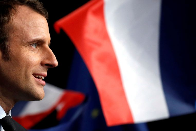 Emmanuel Macron. Beeld REUTERS