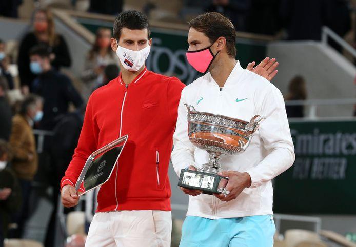Novak Djokovic en Rafael Nadal zijn in Londen op recordjacht.