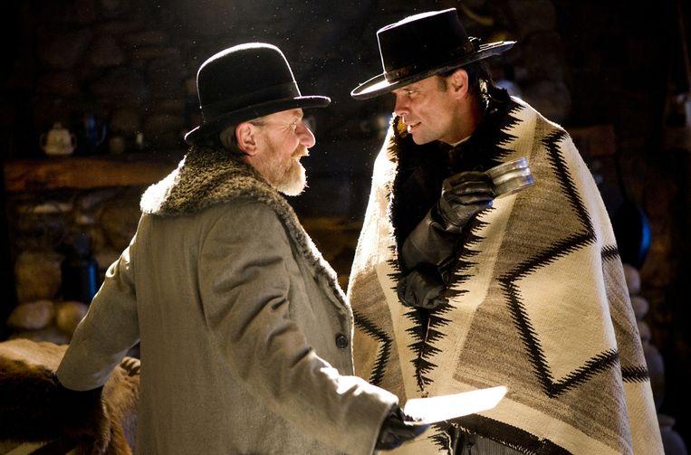 Tim Roth en Walton Goggins. Tarantino maakt films naar zijn eigen standaard en volgens zijn eigen regels. Beeld Andrew Cooper