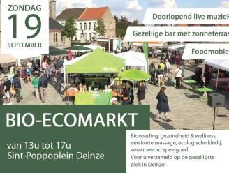 Bio-ecomarkt strijkt neer op Sint-Poppoplein