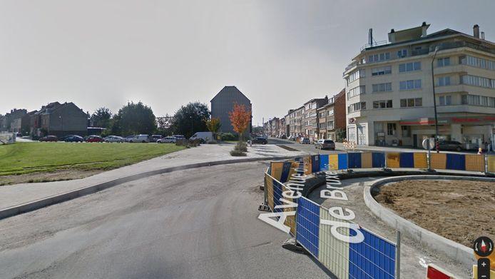 De steekpartij vond plaats vlak bij de Kerkhof van Brussellaan in Evere.
