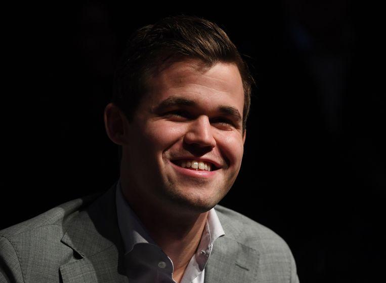 Magnus Carlsen.  Beeld EPA