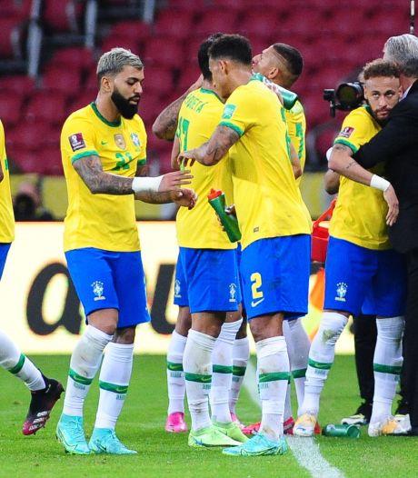Internationals Brazilië zwijgen over omstreden Copa América