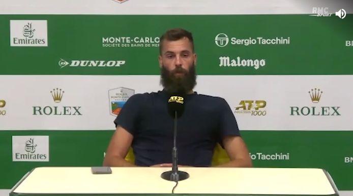 Benoit Paire s'est lâché en conférence de presse après sa défaite au premier tour de Monte-Carlo.