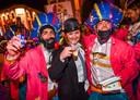 Gwendolyn Rutten (Open Vld) amuseerde zich tijdens Aalst Carnaval.