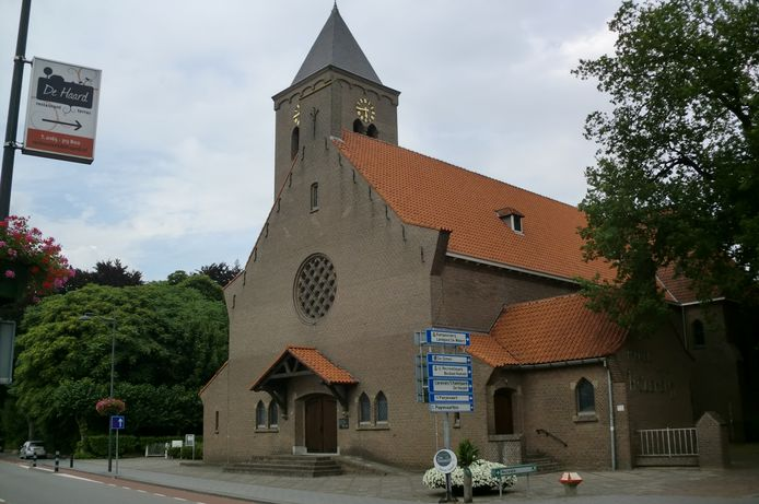 De kerk van Bosschenhoofd.