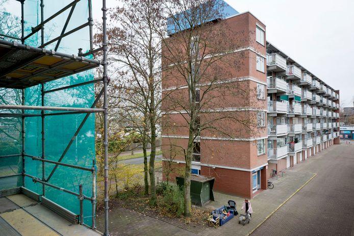 Flats aan de Sandenburgstraat en de Hindersteinstraat in wijk IJpelaar in Breda worden aangesloten op de stadsverwarming.