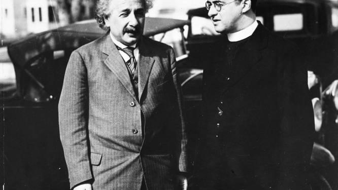 """PORTRET Georges Lemaître, de Leuvenaar die Einstein in een taxi het ontstaan van het heelal uitlegde: """"De professor uit het kleine België kreeg uiteindelijk toch de credits voor de Big Bang-theorie"""""""