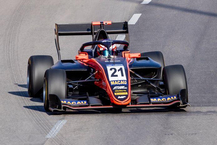 Richard Verschoor zegevierde in november op het circuit van Macau.