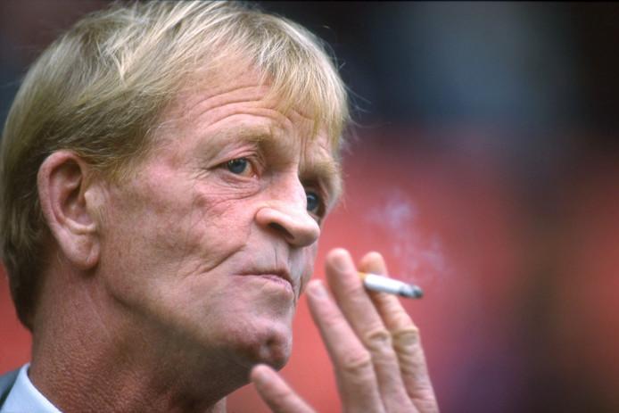 Archieffoto van de in 1999 overleden trainer Bert Jacobs.