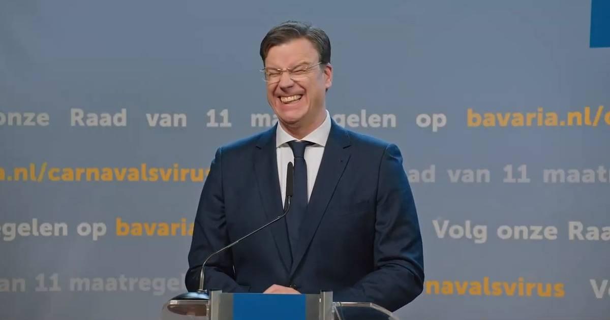 Bavaria lanceert eigen 'persconferentie' met Rutte dun Urste en Hugo mun Jungske in nieuwe carnavalscampagne - BD.nl