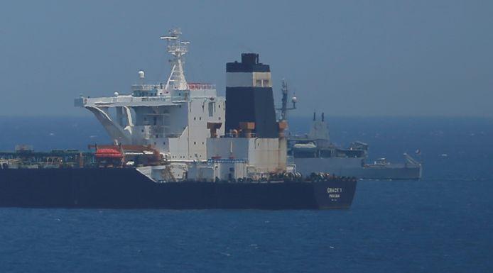 De Iraanse tanker Grace 1