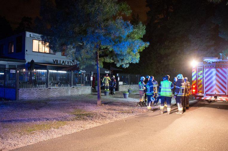 De hulpdiensten kwamen in de nacht van woensdag op donderdag naar de zaak.