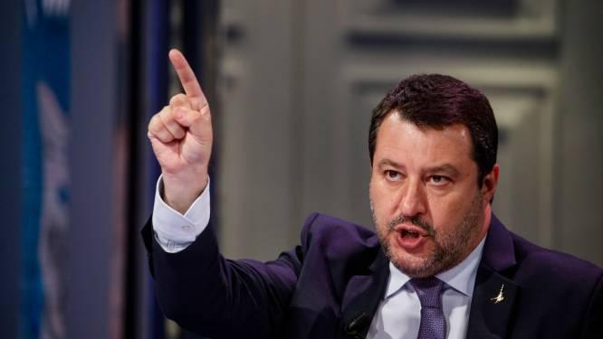 Italiaanse oud-minister Salvini vervolgd voor weigeren boot met vluchtelingen