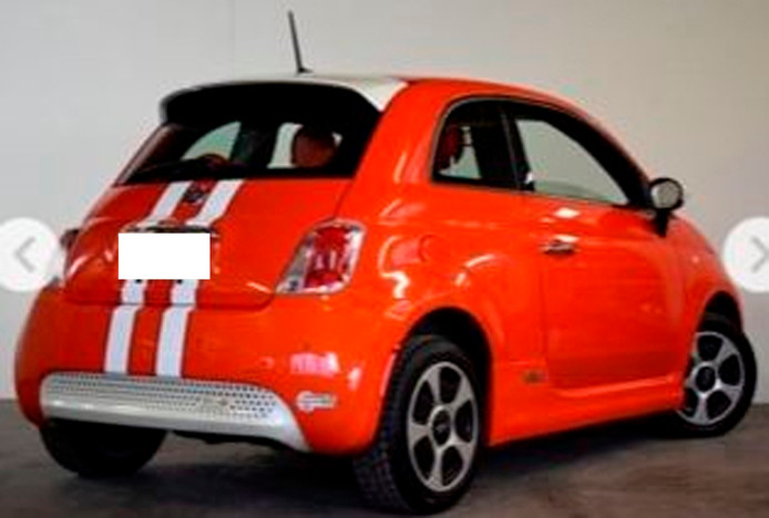 De auto die door een getuige gezien werd, zag er ongeveer uit als deze.